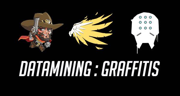 datamining overwatch : les graffitis des heros