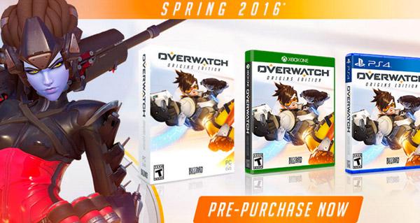 overwatch : sortie, prix et version console
