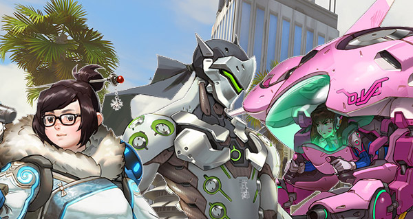 d.va, mei, genji et map hollywood sont disponibles sur la beta