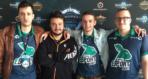 interview de l'equipe melty esport club