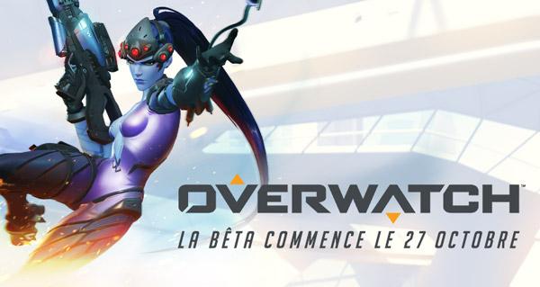 Overwatch en bêta le 27 octobre