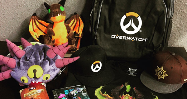 Goodies de la Blizzcon 2015