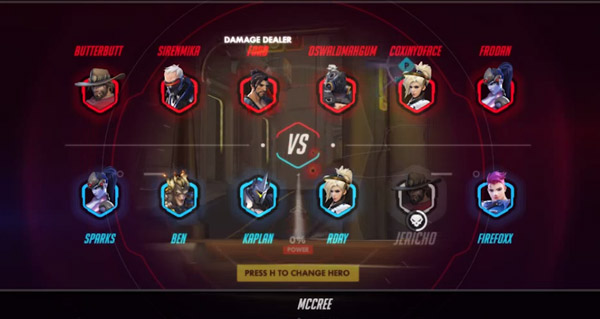 pre-beta overwatch : une nouvelle feuille de score