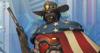 Skin épique McCree USA (2016)