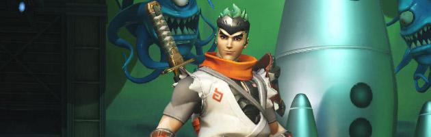 Nouvelle apparence légendaire : Jeune Genji pour Overwatch