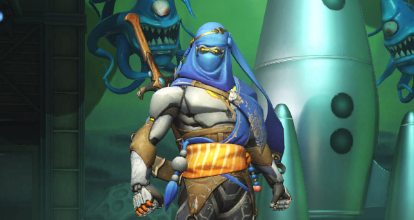 patch overwatch : skin legendaire genji bedouin et ecran de demarrage parties competitives