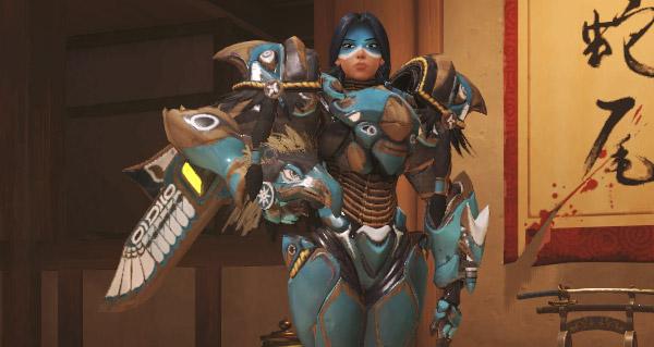 nouveaux skins legendaires pour genji et pharah