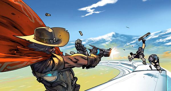 le premier comic overwatch sera disponible en ligne le 21 avril