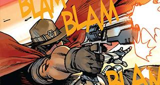 Une planche exclusive du comic McCree