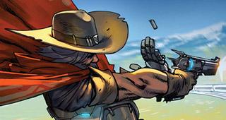Couverture officielle du comic McCree