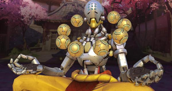 nouveau patch : retour de la map hanamura, equilibrage mccree et zenyatta
