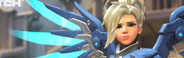 Première menu du FPS Overwatch de Blizzard