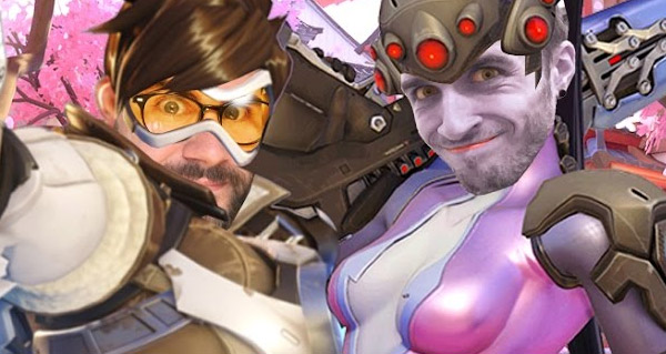 cypriengaming teste overwatch sur ps4 avec mamytwink