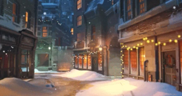 l'evenement noel arrive le 13 decembre dans overwatch