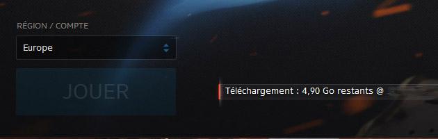 Téléchargement du nouveau patch pour la bêta Overwatch