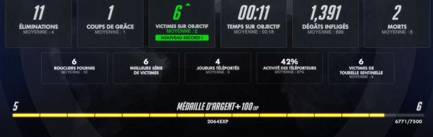 Nouvelle feuille de score dans Overwatch