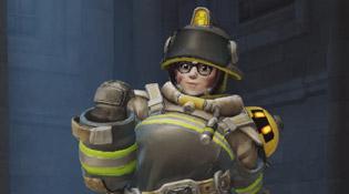 Skin Mei Combattante du feu