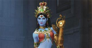 Skin Symmetra Devi