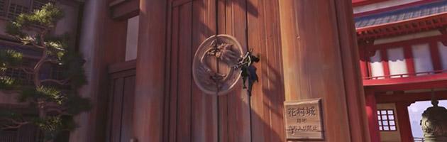 Hanzo a la capacité de grimper les murs