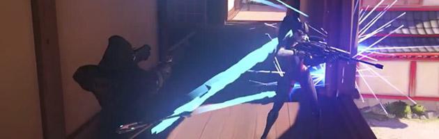 Hanzo peut envoyer des flèches qui ricocheront et pourront atteindre plusieurs cibles