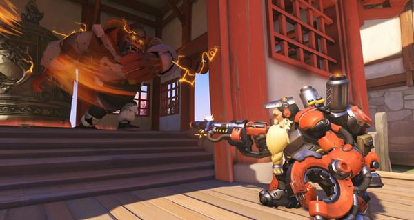 patch overwatch : equilibrage pour torbjorn et bastion