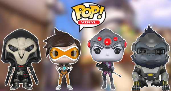 les figurines funko pop! d'overwatch debarquent au mois de mai