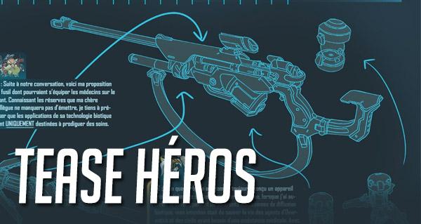 blizzard tease le prototyep d'une arme sniper pour overwatch