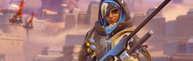 Ana est un sniper soutien dans Overwatch