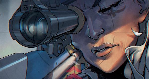 mini comic overwatch : ana amari - legacy