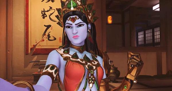 le skin devi de symmetra offense les autorites hindou