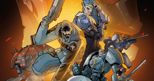 une bande-dessinee overwatch et un concept-arts pour l'annee 2017