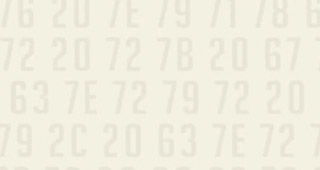 Un code héxadécimal caché dans la vidéo