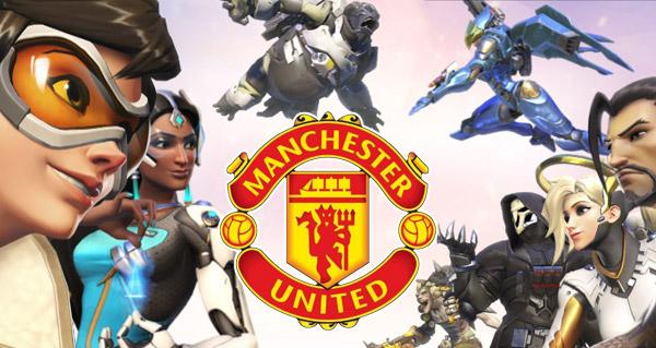 manchester united s'interesse de pres a une equipe e-sport sur overwatch
