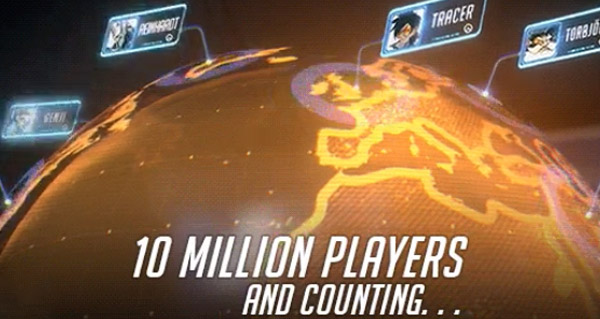 overwatch : 10 millions de joueurs a travers le monde !