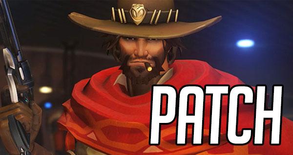 patch note overwatch : nerf de mccree et fatale