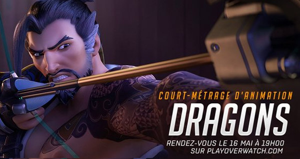 court-metrage d'animation dragons diffuse le 16 mai a 19 heures