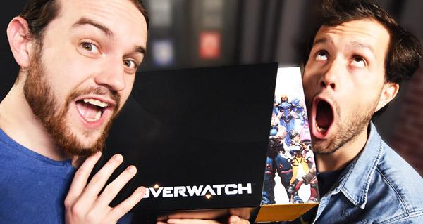 mamytwink et zecharia deballent l'edition collector d'overwatch