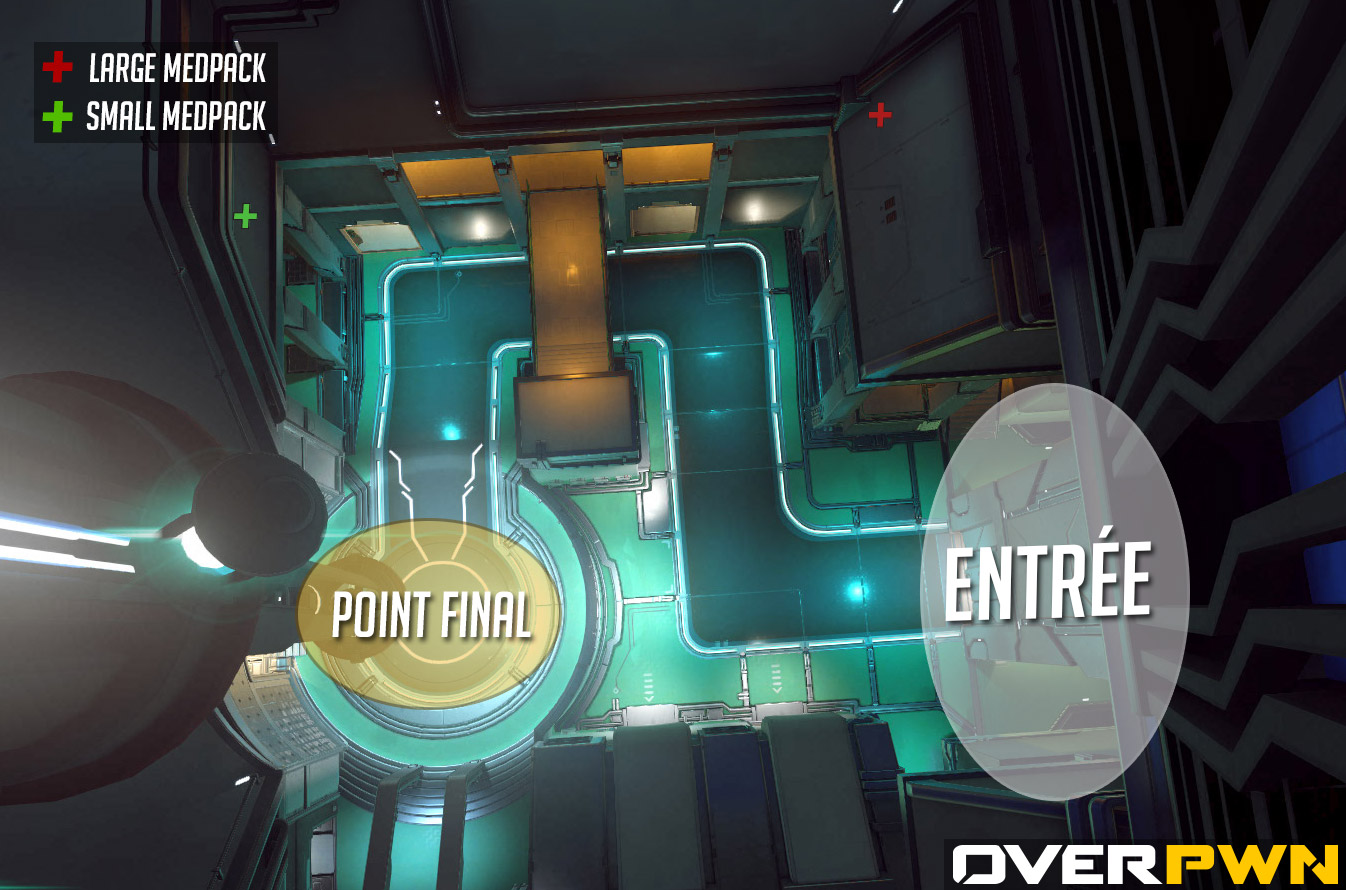 La carte du point final de Dorado dans Overwatch