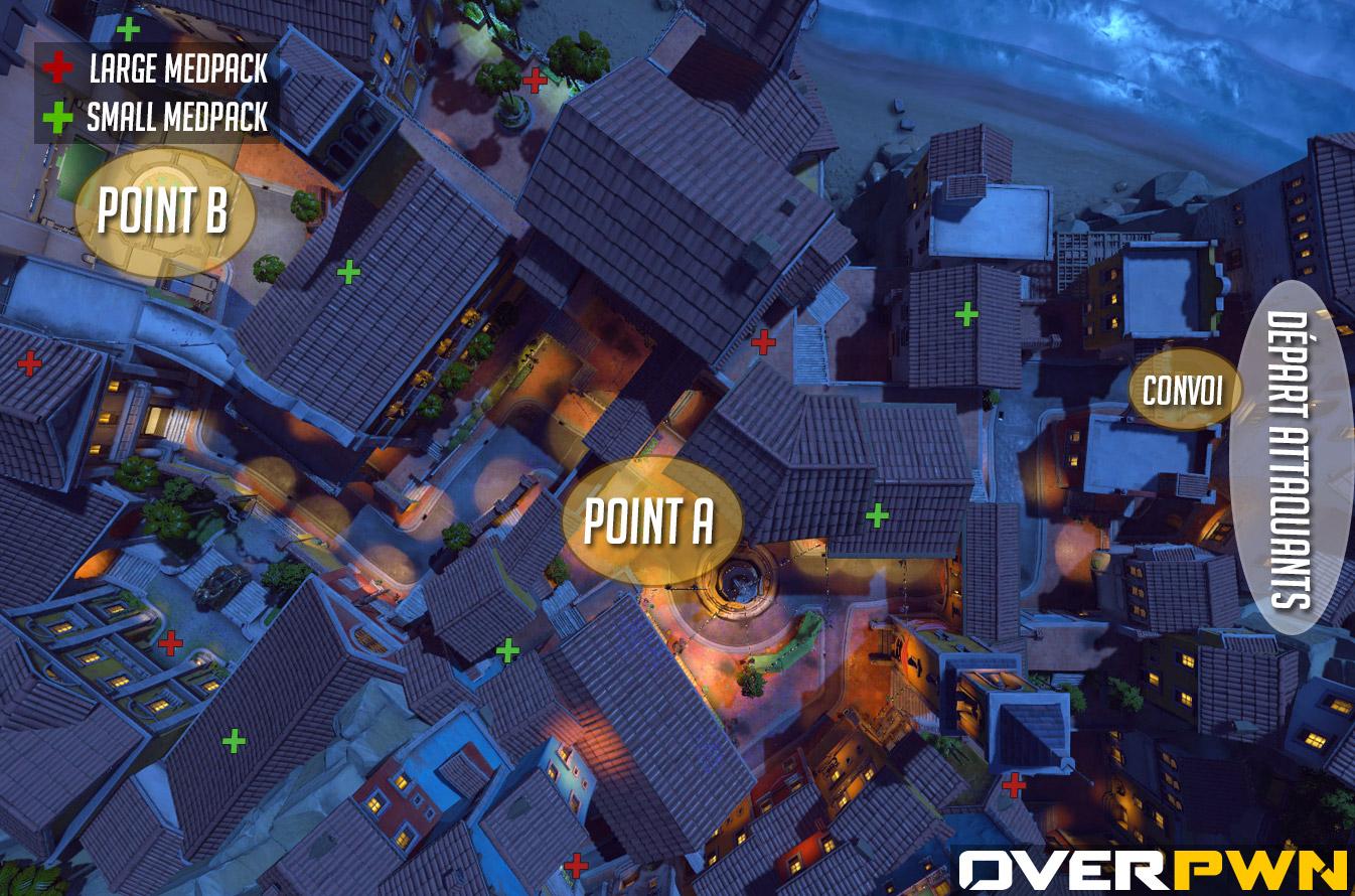 La carte de Dorado dans Overwatch
