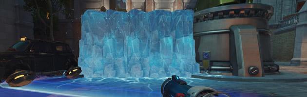 Les murs de Mei peuvent être très utiles sur cette map