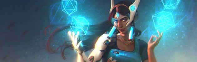 Symmetra peut conférer +25 armure à chaque héros !