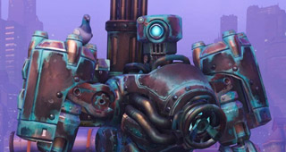 Skin Bastion Robot-tronique