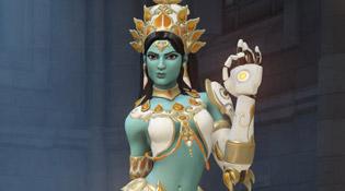 Skin légendaire Symmettra Goddess