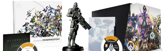 Édition collector Overwatch prévu pour le 24 mai 2016