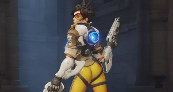 blizzard modifie une pose de tracer dans overwatch