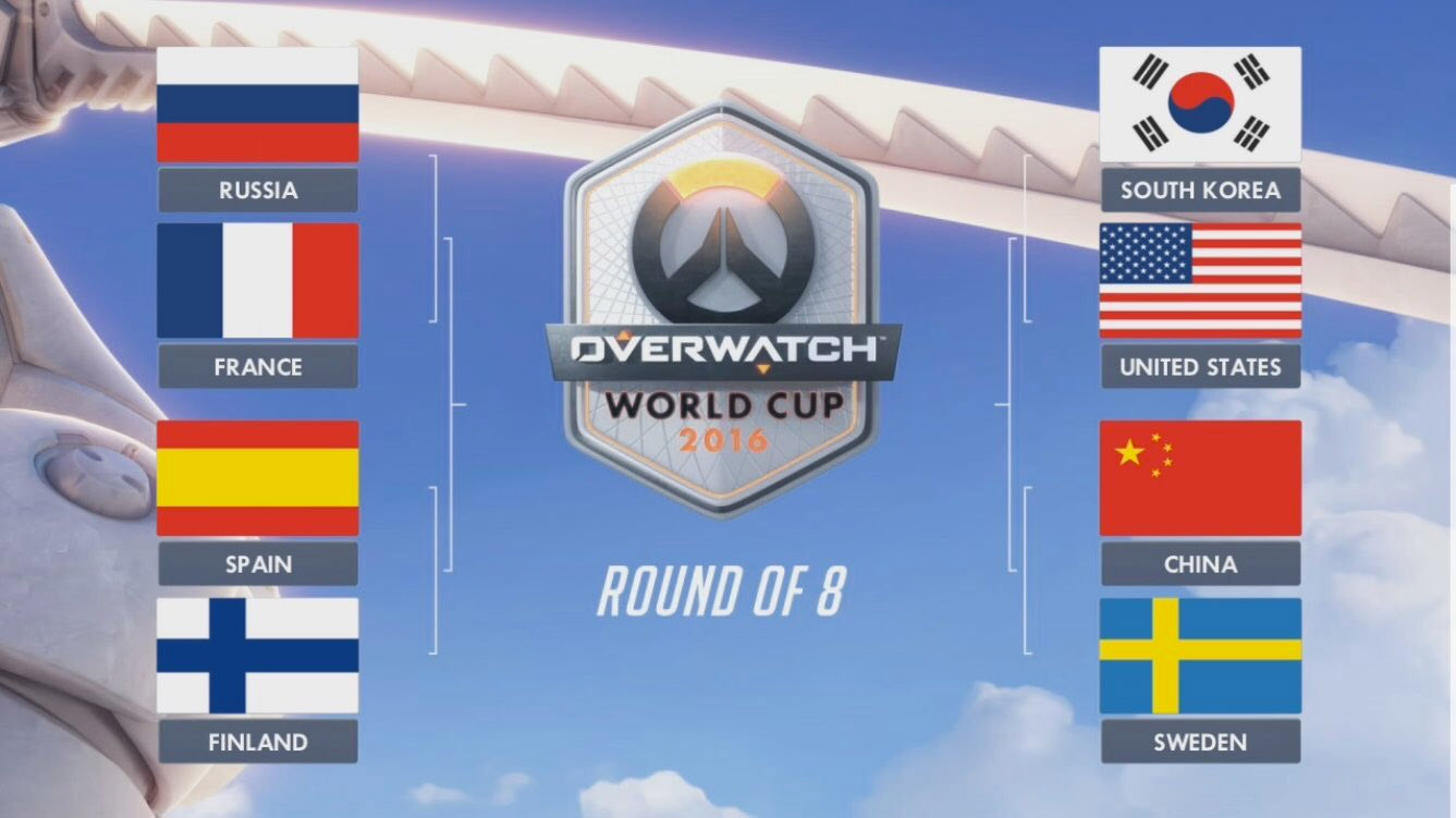 Overwatch World cup quarts
