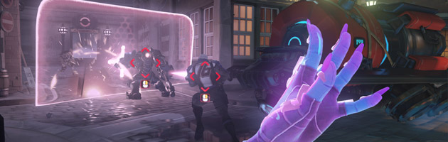 Sombra peut désactiver les boucliers ennemis et pirater les adversaires