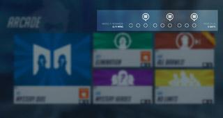 Fonctionnalité arcade dans Overwatch