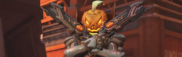 Skin Citrouille événementiel Halloween
