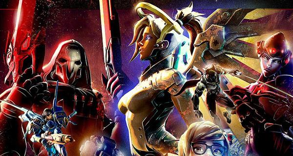Un Superbe Poster Overwatch Facon Star Wars Par Nicolas